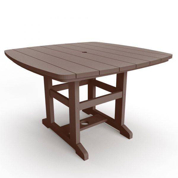 Dining Table 72 - DT72 - Chocolate