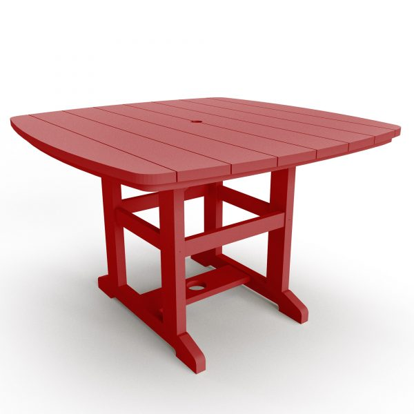 Dining Table 72 - DT72 - Red
