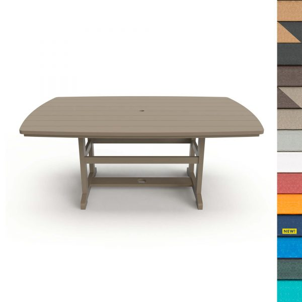 Dining Table 72 - DT72 - with Navy