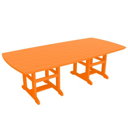 Dining Table 96 - DT96 - Orange