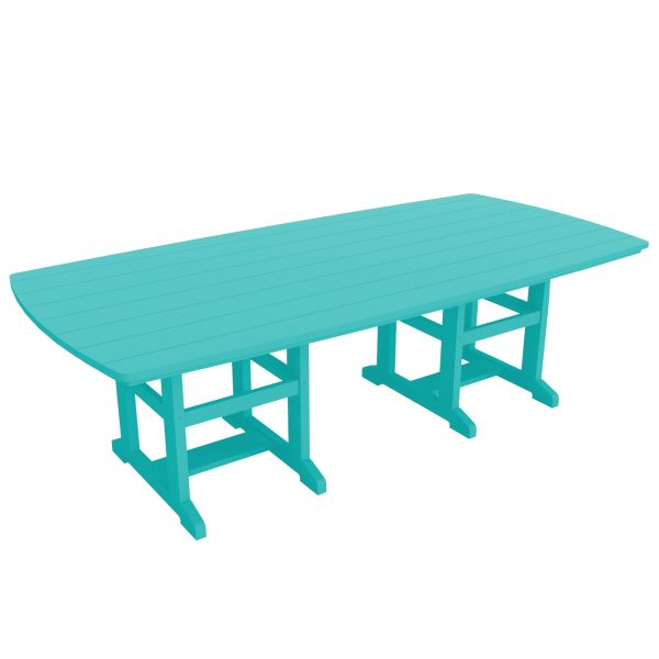 Dining Table 96 - DT96 - Turquoise