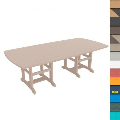 Dining Table 96 - DT96 with Navy
