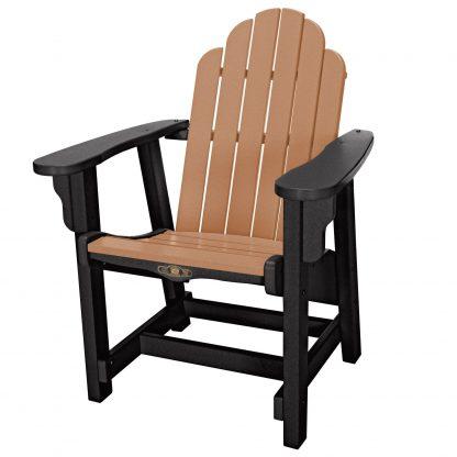 Essentials Conversation Chair - DWCV1 - Black/Cedar