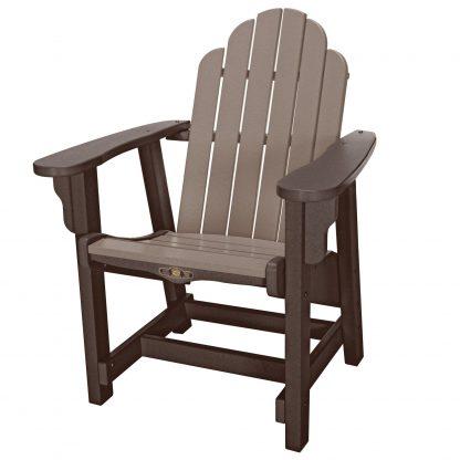 Essentials Conversation Chair - DWCV1 - Chocolate/Weatherwood