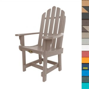 Essentials Dining Chair with Arms with Navy