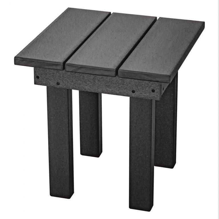 Adirondack Small Side Table - SQST1 - Black