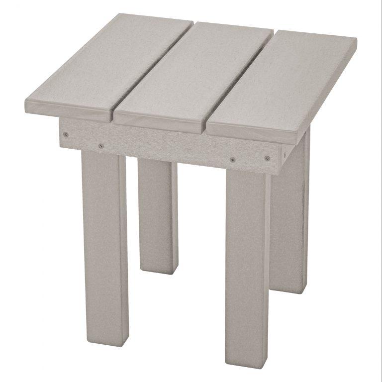 Adirondack Small Side Table - SQST1 - Gray