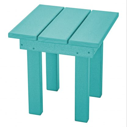 Adirondack Small Side Table - SQST1 - Turquoise