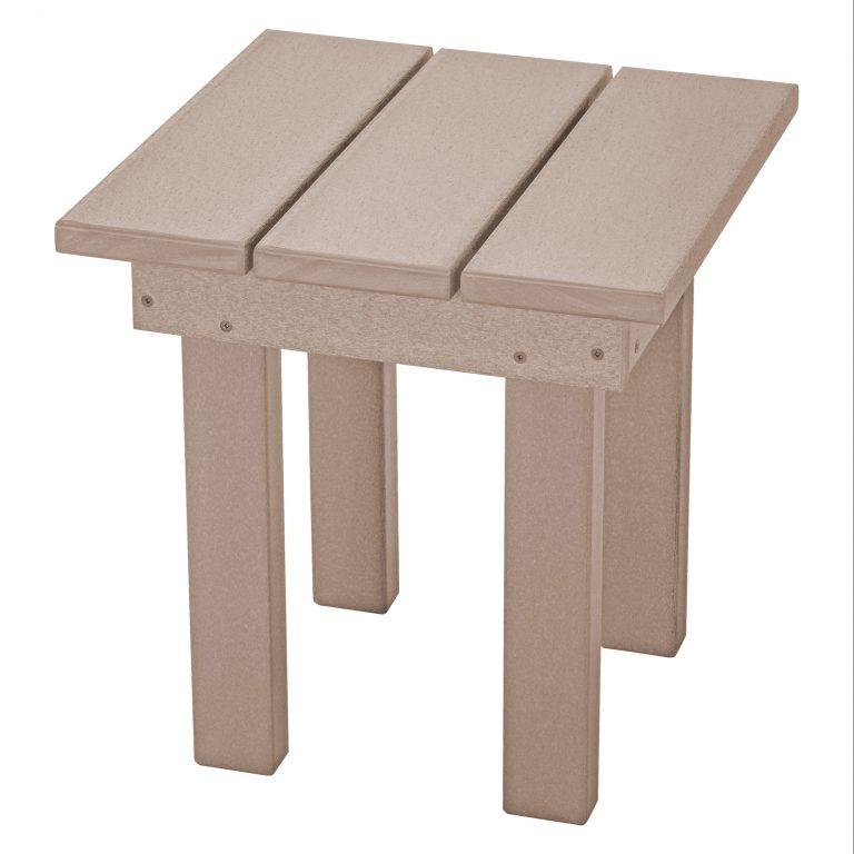 Adirondack Small Side Table - SQST1 - Weatherwood
