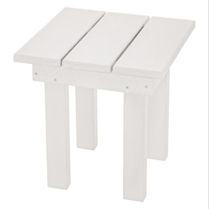 Adirondack Small Side Table - SQST1 - White