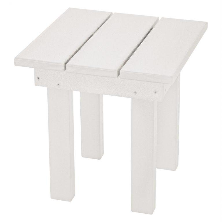 Adirondack Small Side Table - SQST1 - White