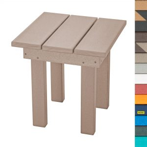 Adirondack Small Side Table - SQST1 - with Navy