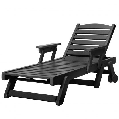 Chaise Lounge - SRCL1 - Black