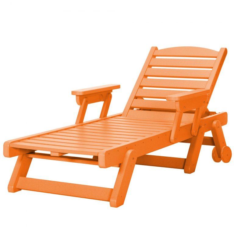 Chaise Lounge - SRCL1 - Orange
