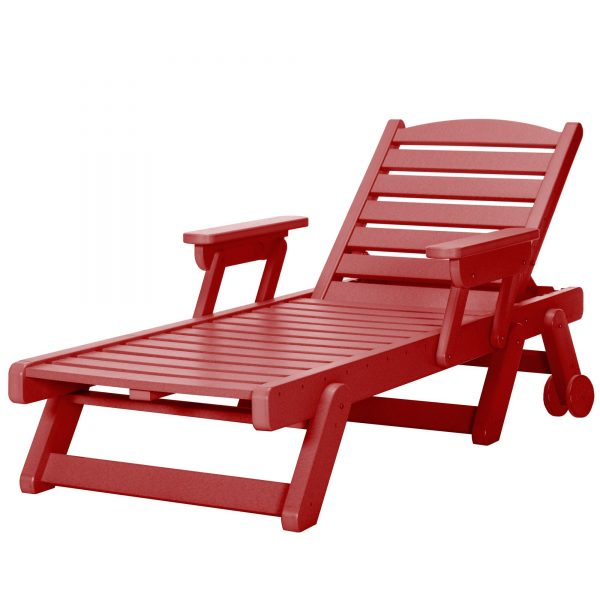 Chaise Lounge - SRCL1 - Red