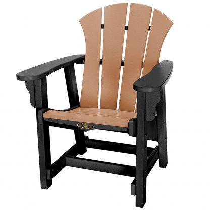 Sunrise Conversational Chair - SRCV1 - Black/Cedar