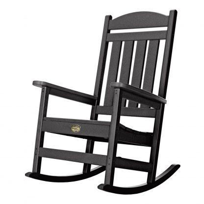 Porch Rocker - SRPR1 - Black