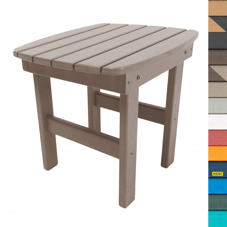 Side Table with Navy