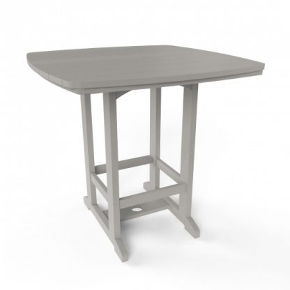 Square High Dining Chair - Gray