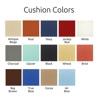 Cushion Colors