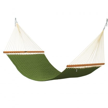 Leaf Green Large Quilted Hammock