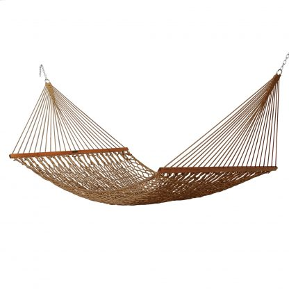 Deluxe Duracord Rope Hammock - Antique Brown - 14DCAB