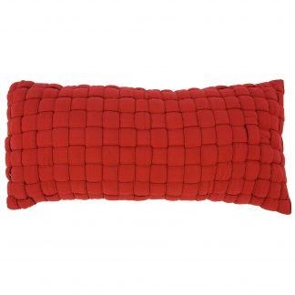 Softweave Pillow - Garnet - B-WEAVE-GN