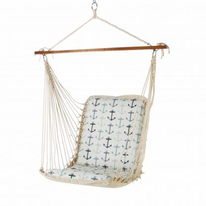 Cushioned Single Swing - Anchor Arbor Cream - SANCHORC