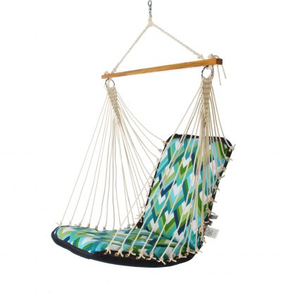 Cushioned Single Swing - Resort Peacock - SRESORTP