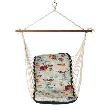 Cushioned Single Swing - Spinnaker Bay Sailor - SSPINBAY