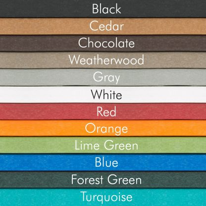 Hatteras Durawood Colors