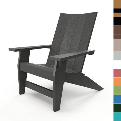 Hatteras Adirondack Chair with multiple color blocks