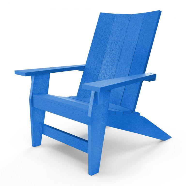Hatteras Adirondack Chair - Blue - HHAC1-K-BLU