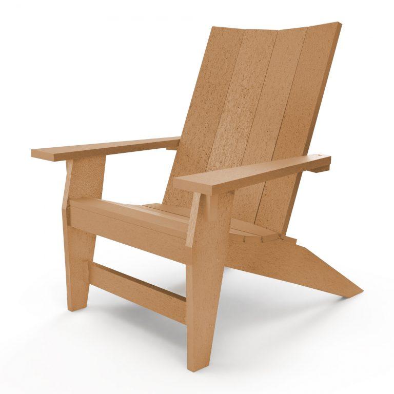 Hatteras Adirondack Chair - Cedar - HHAC1-K-CD