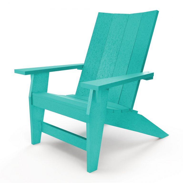 Hatteras Adirondack Chair - Turquoise - HHAC1-K-TQ