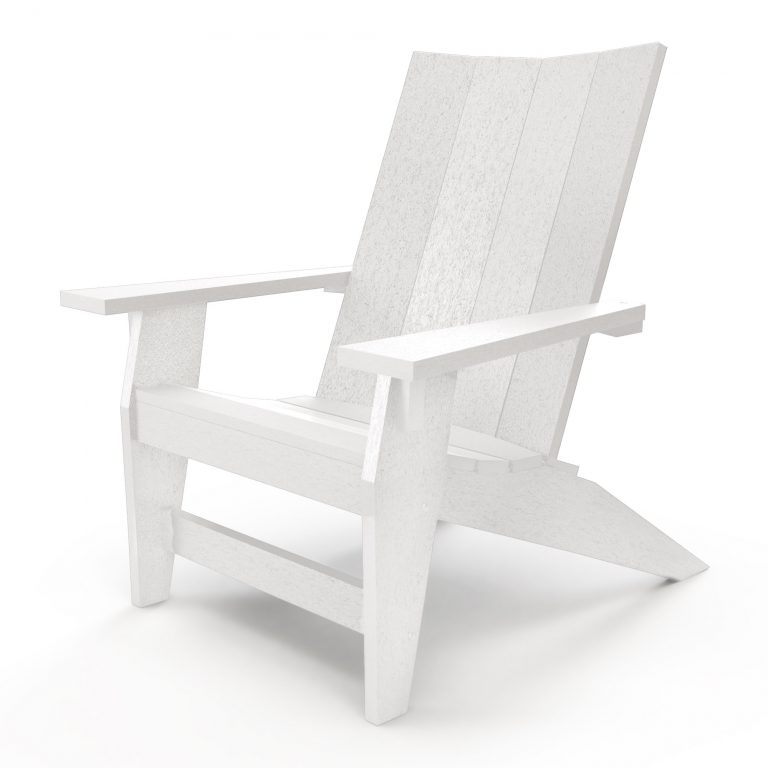 Hatteras Adirondack Chair - White - HHAC1-K-WH