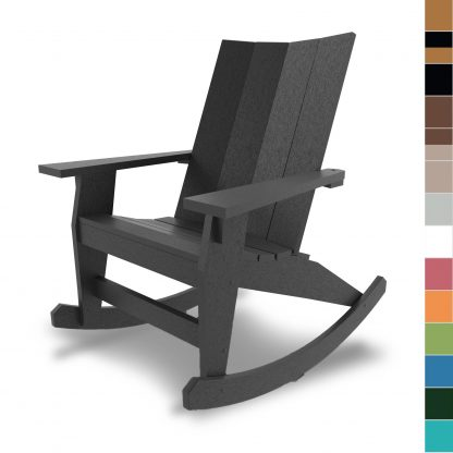Hatteras Adirondack Rocker - multiple color blocks