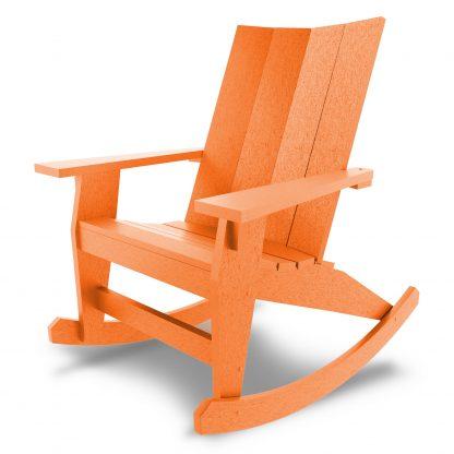 Hatteras Adirondack Rocker - Orange - HHAR1-K-OR