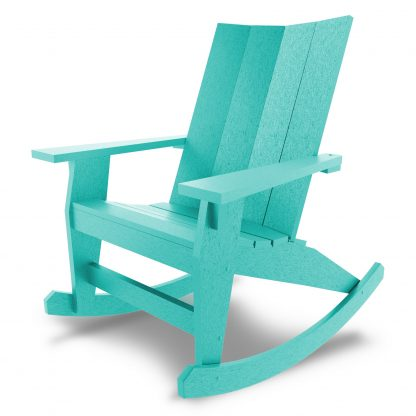 Hatteras Adirondack Rocker - Turquoise - HHAR1-K-TQ