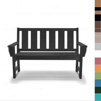 Refined Bench in Black - HHBN1 - multicolor blocks (no navy)