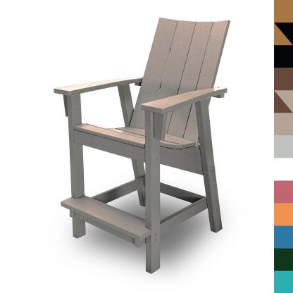 Counter Height Chair Weatherwood