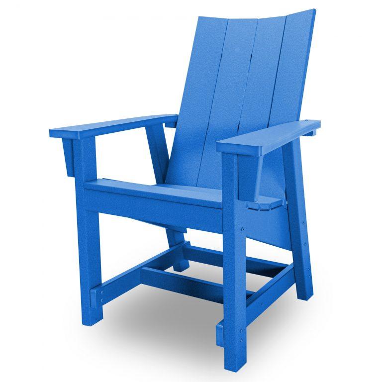 Hatteras Conversation Chair - Blue - HHCV1-K-BLU