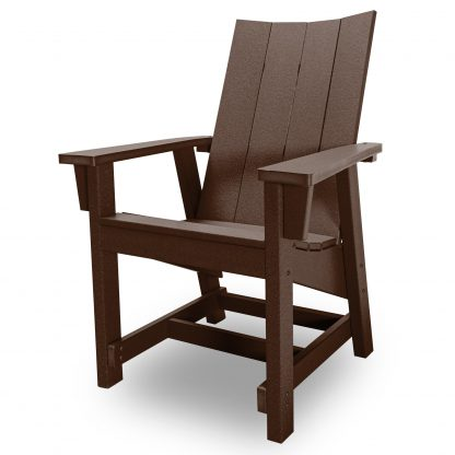 Hatteras Conversation Chair - Chocolate - HHCV1-K-CHO