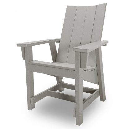 Hatteras Conversation Chair - Gray - HHCV1-K-GRY