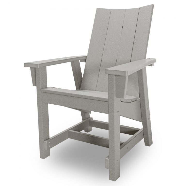 Hatteras Conversation Chair - Gray - HHCV1-K-GRY