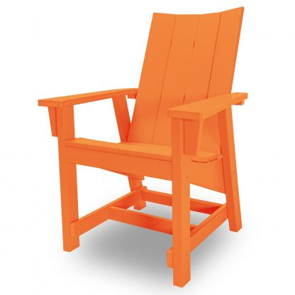 Hatteras Conversation Chair - Orange - HHCV1-K-OR