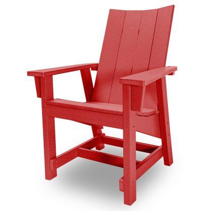 Hatteras Conversation Chair - Red - HHCV1-K-RD