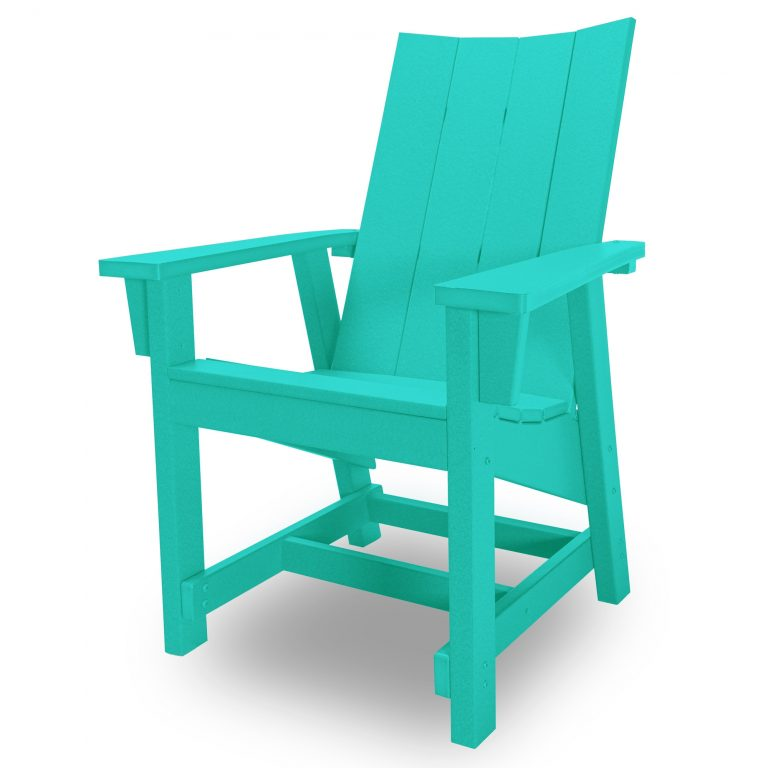 Hatteras Conversation Chair - Turquoise - HHCV1-K-TQ