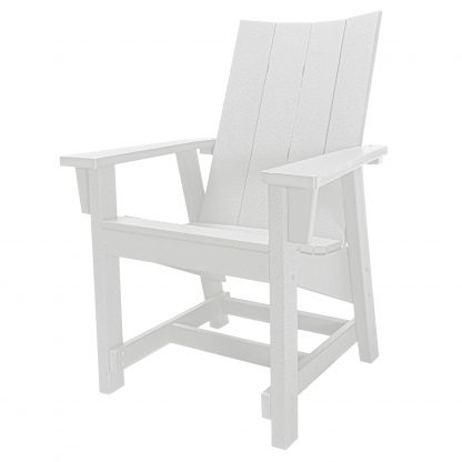 Hatteras Conversation Chair - White - HHCV1-K-WH