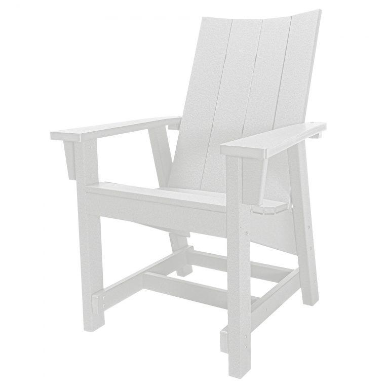 Hatteras Conversation Chair - White - HHCV1-K-WH